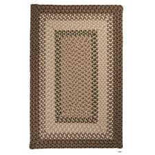 Tiburon Spruce Green Braided Area Rug