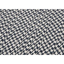 <strong>Colonial Mills</strong> Outdoor Houndstooth Tweed Navy Sample Swatch