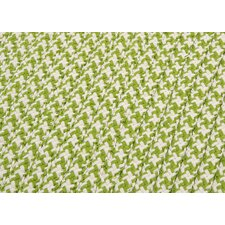 <strong>Colonial Mills</strong> Outdoor Houndstooth Tweed Lime Sample Swatch