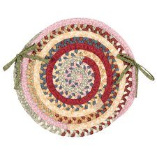 Market Mix Oval Chair Pad (Set of 4)