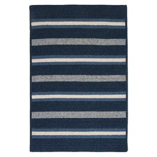 Salisbury Blue Striped Rug