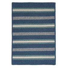 Salisbury Blue Striped Rug