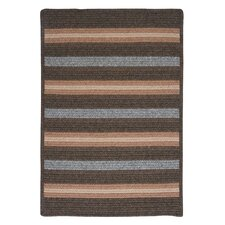 Salisbury Brown Striped Rug