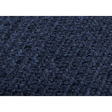 Simple Chenille Navy Sample Swatch