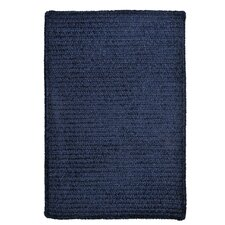 Simple Chenille Navy Rug