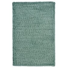 Simple Chenille Myrtle Green Rug