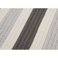 <strong>Colonial Mills</strong> Stripe It Silver Sample Swatch