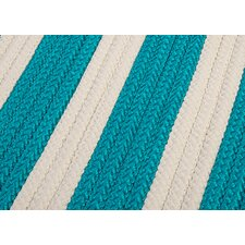 <strong>Colonial Mills</strong> Stripe It Turquoise Sample Swatch