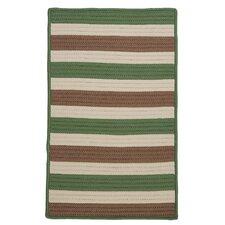 Stripe It Moss-stone Indoor/Outdoor Rug