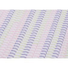 Ticking Stripe Rect Dreamland Sample Swatch