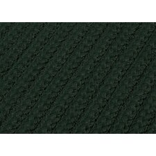Simply Home Solid Dark Green Sample Swatch