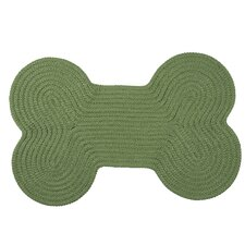 Dog Bone Solid Pet Mat