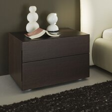 Sound 2 Drawer Nightstand