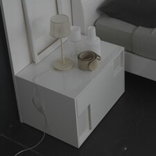 Nightfly Left 2 Drawer Nightstand