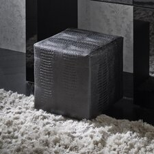 Diamond Bedroom Leather Ottoman