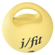 <strong>J Fit</strong> 6.6 lbs Premium Handle Medicine Ball