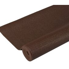 Premium Yoga Mat in Coffee