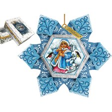 <strong>G Debrekht</strong> Snow Maiden Ornament