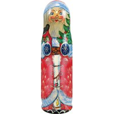 <strong>G Debrekht</strong> Russia Santa Tree Bottle Holder