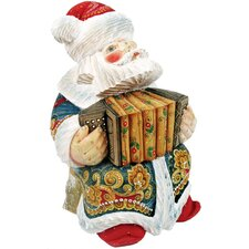 Derevo Musician Accordion Santa
