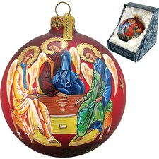 Three Angels Ball Ornament