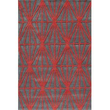 Bliss Red Area Rug