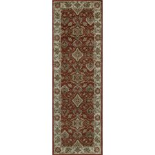 Zarin Spice Red Area Rug