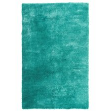 Luster Shag Teal Tufted Rug