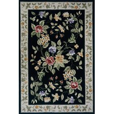 Spencer Black/Ivory Rug