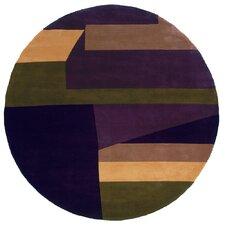 New Wave Purple Rug