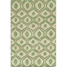 Bliss Green Tufted Area Rug