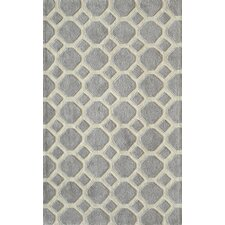 Bliss Grey Tufted Area Rug