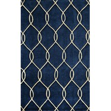Bliss Navy Tufted Area Rug