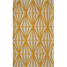 Bliss Gold & Ivory Tufted Area Rug