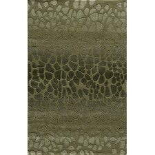 Delhi Green Tufted Rug