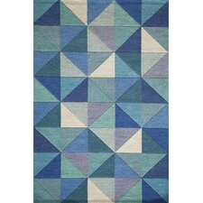 Delhi Blue Tufted Rug