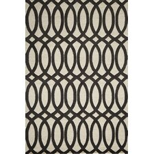 Delhi Black Tufted Rug