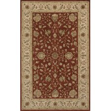 Imperial Court Rust/Tan Area Rug