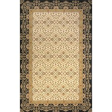 Persian Garden Charcoal/Yellow Area Rug
