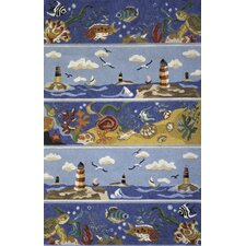 Coastal Breezy Novelty Rug