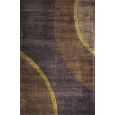 New Wave Plum Area Rug