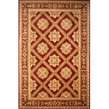 Maison Red Area Rug