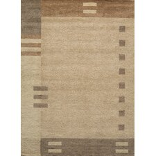 Gramercy Brown Geometric Area Rug