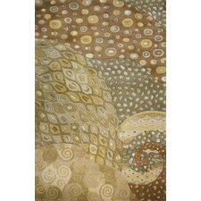 New Wave Natural Area Rug