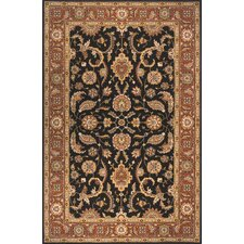 Persian Garden Salmon Area Rug