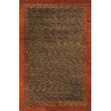 Desert Gabbeh Brown Rug