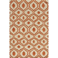 Bliss Orange Area Rug