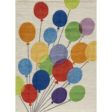 <strong>Momeni</strong> Lil Mo Whimsy Balloon Kids Rug