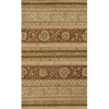 Imperial Court Earth Brown/Tan Area Rug