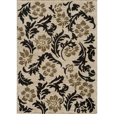 Dream Ivory Floral Area Rug